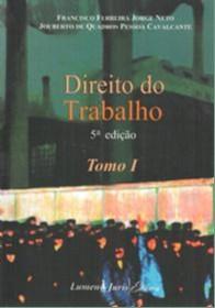 DIREITO DO TRABALHO - TOMO I E TOMO II