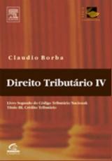 DIREITO TRIBUTARIO, VOL. IV - LIVRO 2 DO CODIGO TRIBUTARIO, TITULO III