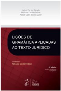 LICOES DE GRAMATICA APLICADAS AO TEXTO JURIDICO