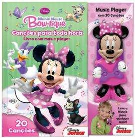 MINNIE MOUSE BOW-TIQUE - CANCOES PARA TODA HORA - 20 CANCOES - COL. MUSIC P