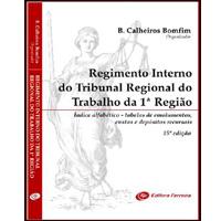 REGIMENTO INTERNO DO TRT DA 1 REGIAO