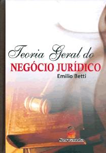 TEORIA GERAL DO NEGOCIO JURIDICO