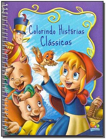 Colorindo Histórias Clássicas