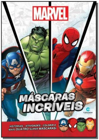 Máscaras Incríveis - Marvel