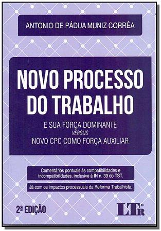 Novo Processo do Trabalho - 02Ed/18