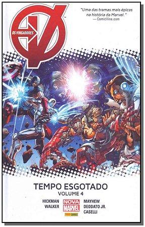 Vingadores, Os - Tempo Esgotado - Vol. 04
