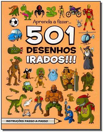 Aprenda a Fazer...501 Desenhos Irados