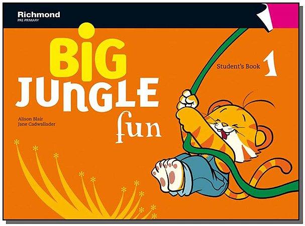 Big Jungle Fun - Students Book 1
