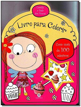 Camila, a Fada Doces - Lv P/ Colorir Com Adesivos