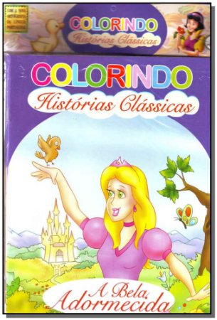 Col. Colorindo Hist. Classicas - Kit Com 10 Tit