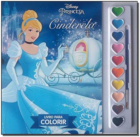 Disney - Aquarela - Cinderela - NV