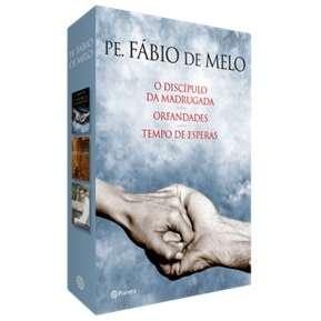 BOX PE. FABIO DE MELO - O DISCIPULO DA MADRUGADA, ORFANDADES E TEMPO DE ESP