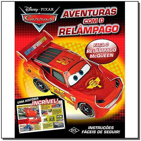 Disney - Monte - Carros - Aventuras Com Relampago