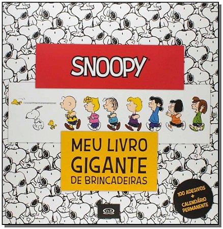 Snoopy - Meu Livro Gigante de Brincadeiras