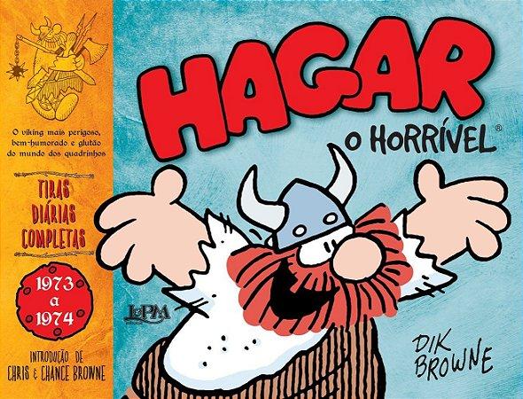 HAGAR, O HORRIVEL: TIRAS DIARIAS COMPLETAS (1973-1974)