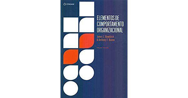 ELEMENTOS DE COMPORTAMENTO ORGANIZACIONAL