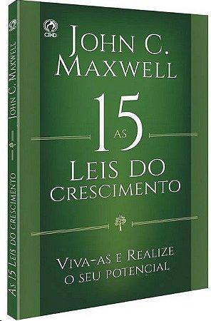 15 LEIS DO CRESCIMENTO, AS: VIVAS-AS E REALIZE  SEU POTENCIAL