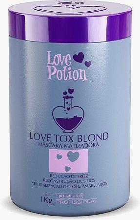 LOVE TOX BLOND - REDUTOR DE VOLUME MATIZADOR  1kg