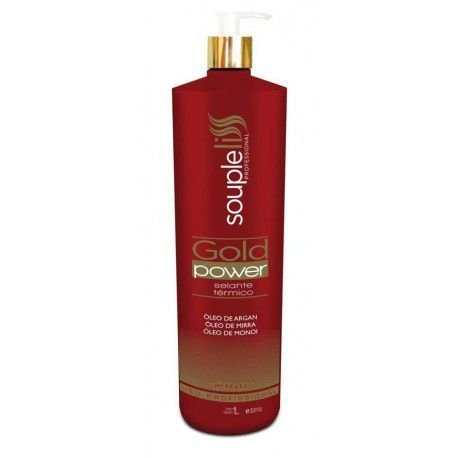 Souple Liss Selante Térmico Gold Power 1000ml- Fab Souple Liss