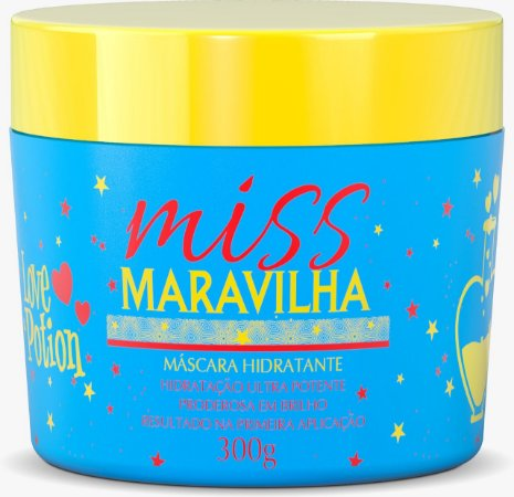 MÁSCARA MISS  MARAVILHA 300g  - LOVE POTION