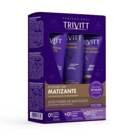 TRIVITT KIT HOME CARE MATIZANTE
