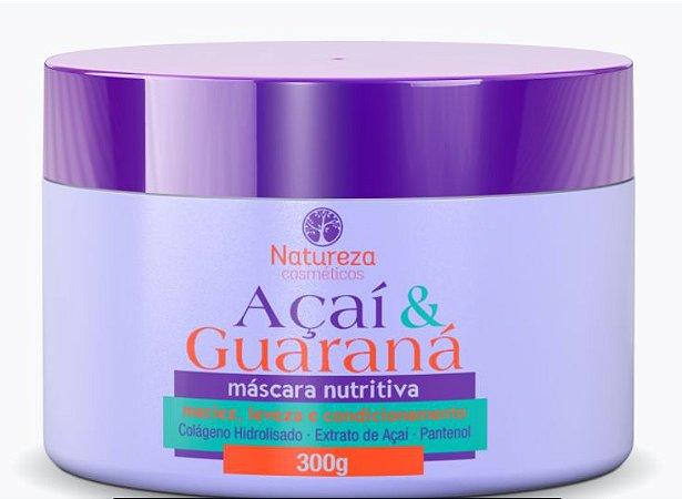 AÇAÍ E GUARANÁ - MÁSCARA NUTRITIVA 300G
