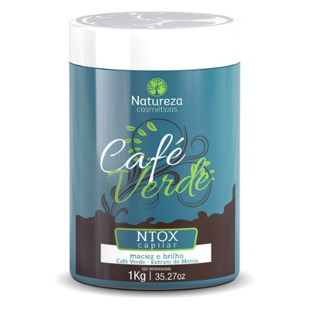 NTOX CAFÉ VERDE 1KG - NATUREZA COSMÉTICOS