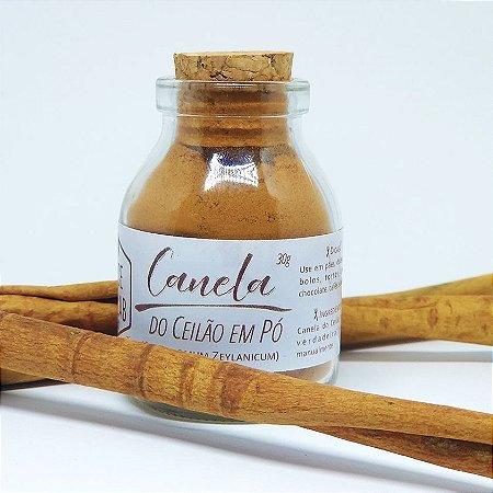 Canela do Ceilão - Cinnamomun verum 30g | 60g