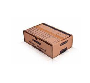 Caixa 1 Parda Modelo Correio 20X14X7 - Pct com 50 unidades