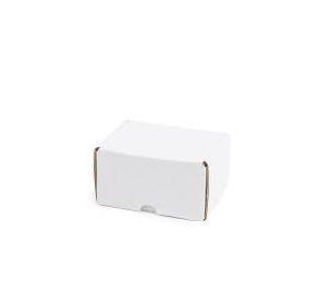 Caixa M Branca Lisa Modelo Correio 14x11x8 - Pct com 50 unidades