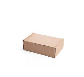 Caixa 1 Parda Lisa Modelo Correio 20x14x7 - Pct com 50 unidades