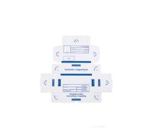 Caixa 1 Branca Modelo Correio 20x14x7 - Pct com 50 unidades