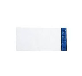 Envelope Plástico Liso 19x26 Branco - Pct com 100 unidades