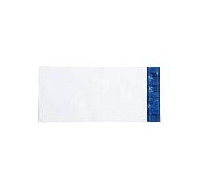 Envelope Plástico Liso 13x26 Branco - Pct com 100 unidades