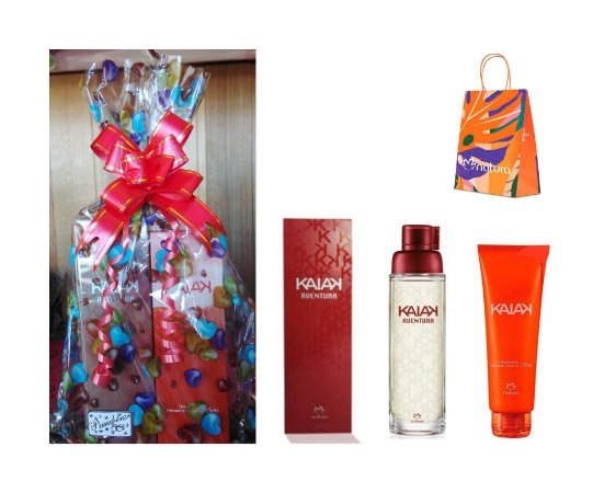 Kit Kaiak Aventura Feminino Natura