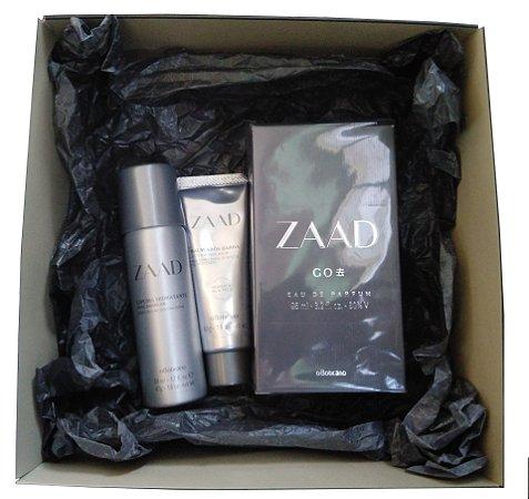Kit Presente Zaad Go Eau de Parfum O Boticário