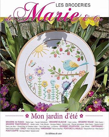 LES BRODERIES DE MARIE & CIE N° 03 - MON JARDIN D'ÉTÉ
