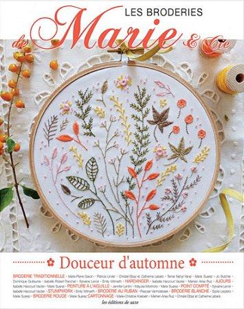LES BRODERIES DE MARIE & CIE N° 04 - DOUCEUR D'AUTOMNE