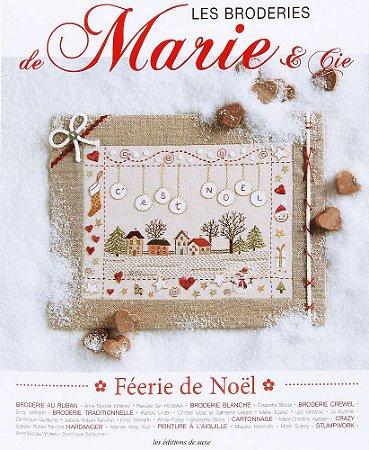 LES BRODERIES DE MARIE & CIE N° 5 - FÉERIE DE NOËL