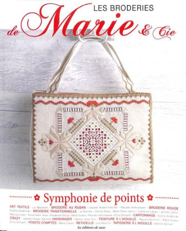 LES BRODERIES DE MARIE & CIE N° 08 - SYMPHONIE DE POINTS