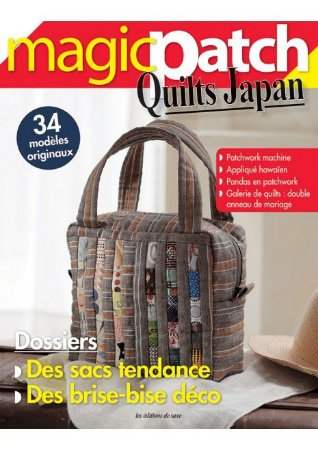 MAGIC PATCH QUILTS JAPAN N° 24 – DES SACS TENDANCE