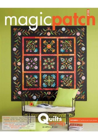 MAGIC PATCH N° 135 – QUILTS RÉCRÉATIFS