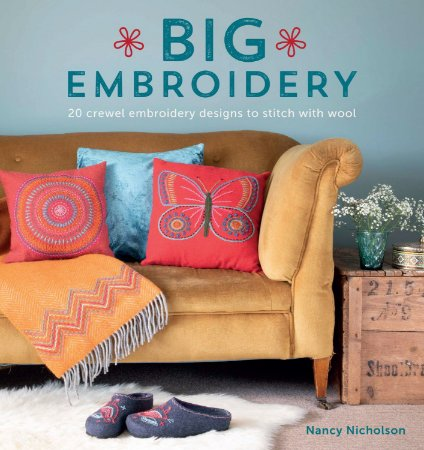 BIG EMBROIDERY - 20 crewel embroidery designs to stitch with wool
