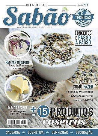 BELAS IDEIAS SABÃO Nº 01 - Mais de 15 produtos caseiros