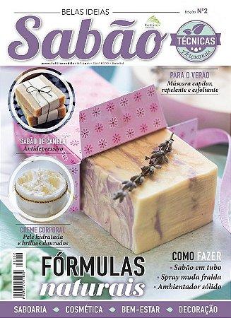 BELAS IDEIAS SABÃO Nº 02 - Fórmulas naturais