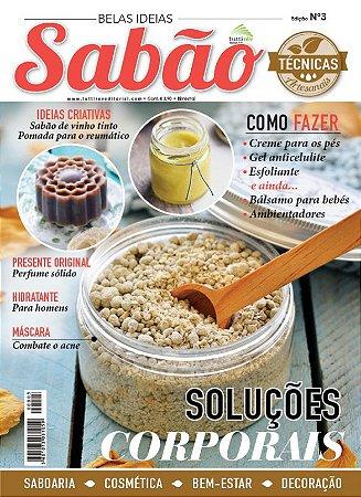 BELAS IDEIAS SABÃO #03 - Soluções corporais