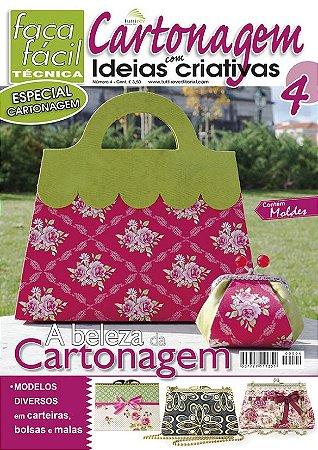 FAÇA FÁCIL TÉCNICA  ESPECIAL Nº 04 - CARTONAGEM - A beleza da cartonagem
