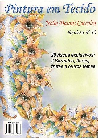 PINTURA EM TECIDO VOL. 13 – Nella Davini Coccolin