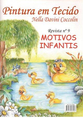 PINTURA EM TECIDO VOL. 09 – Nella Davini Coccolin