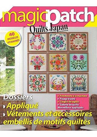 MAGIC PATCH QUILTS JAPAN N° 23 - APPLIQUÉS + VÊTEMENTS